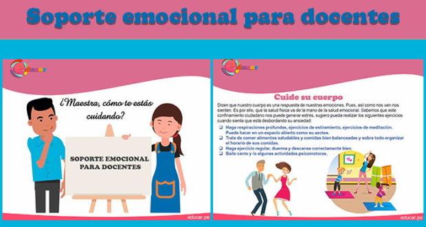 Soporte emocional para docentes